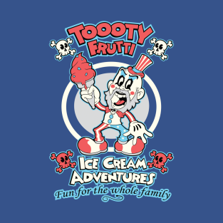 Toooty Frutti t-shirts