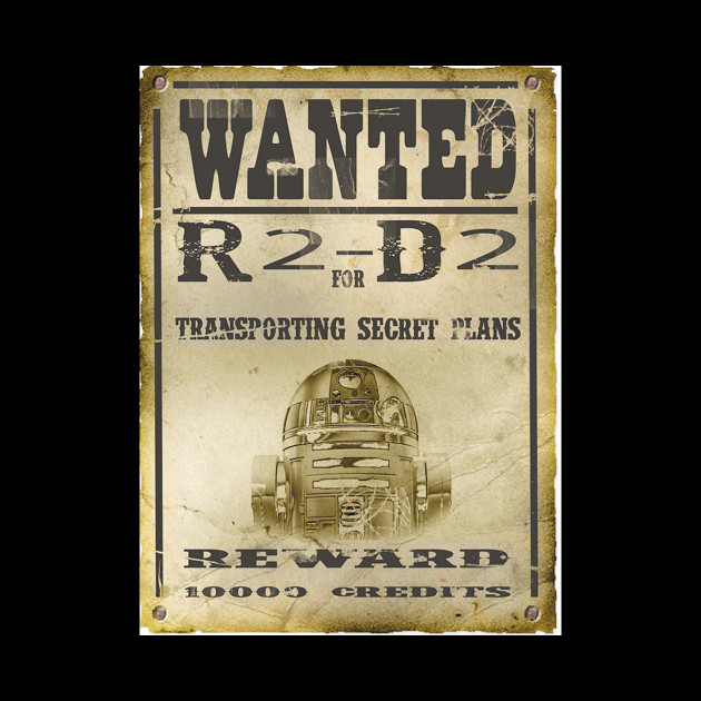 Wanted R2-D2