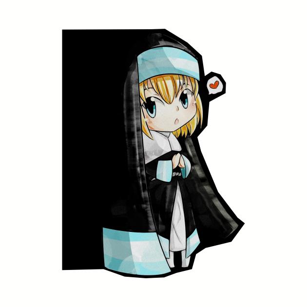sister iris chibi