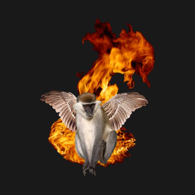 Flying Fire Monkey