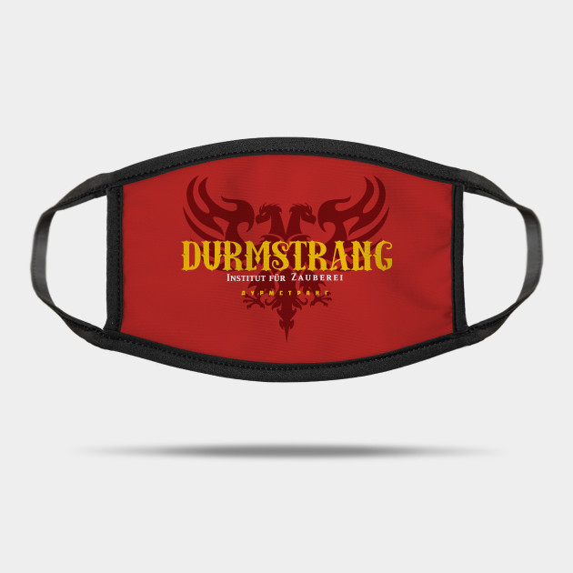 Durmstrang Institute For Magical Learning Harry Potter Mask Teepublic The durmstrang institute has a dark history and many students practice the dark arts. teepublic