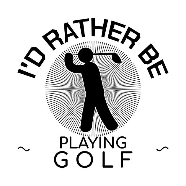 Golf Golfing Golfer Golf Player Gift