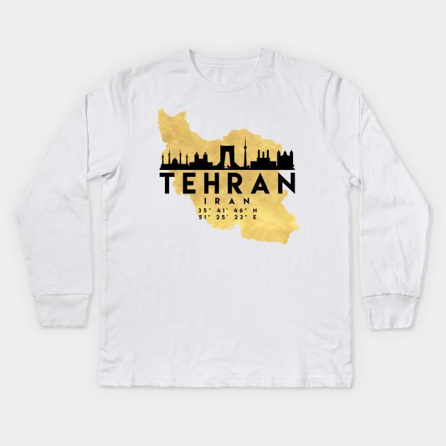 Tehran Vintage City Adult Cotton T-shirt