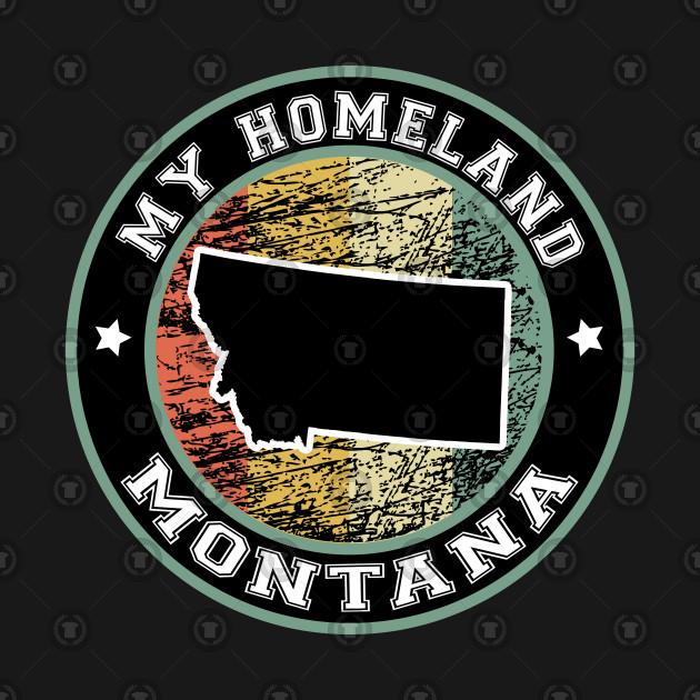 Homeland Montana state USA vintage