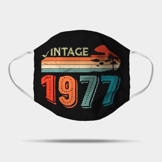 43rd Birthday Gift, 43rd Birthday Vintage, Since 1977 Vintage