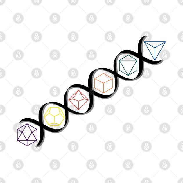 DNA Dice Strand - Color Dice