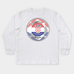 26790ec03 amazing t-shirt football flag country unisex croatia tee shirt Kids Long  Sleeve T-Shirt