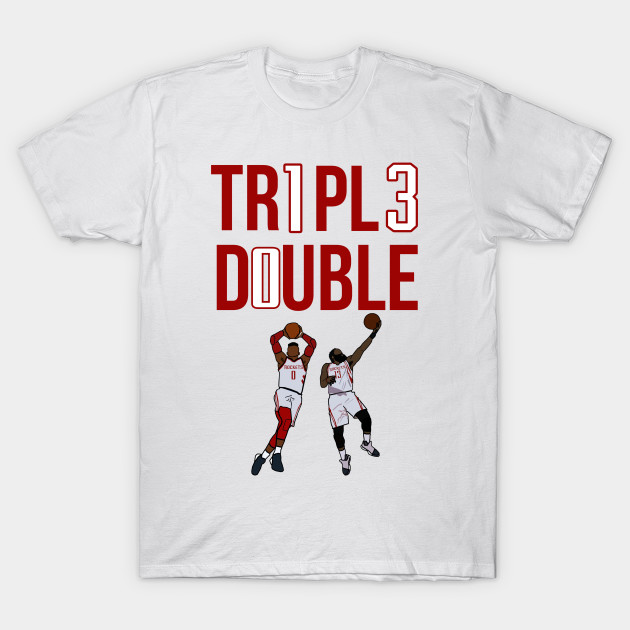 new arrival 43af5 c3c63 Triple Double 'James Harden X Russell Westbrook' NBA Houston Rockets