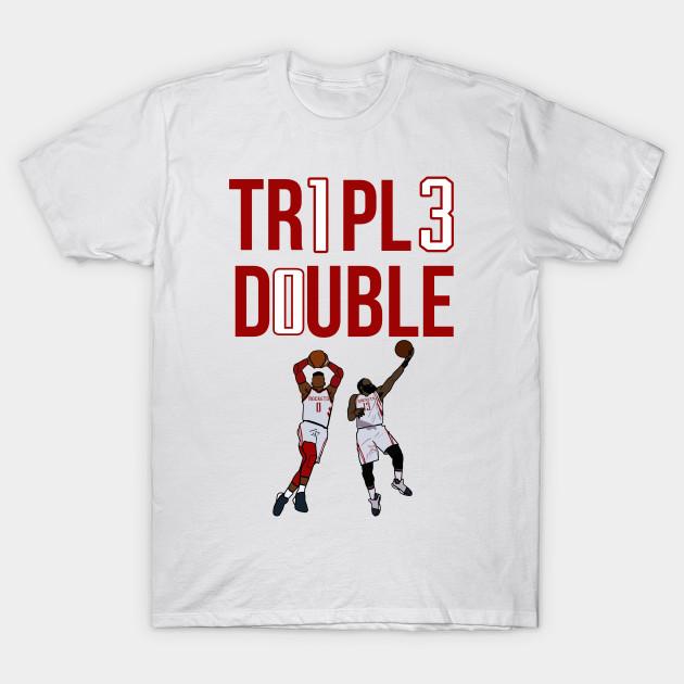new arrival aa994 d5540 Triple Double 'James Harden X Russell Westbrook' NBA Houston Rockets