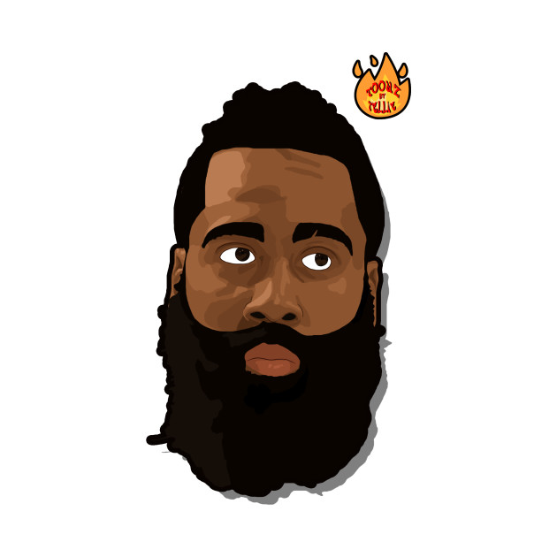 Oc James Harden Fear The Beard Graphic I Made Planning On Doing More Superstars Soon