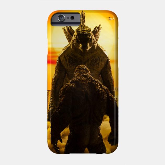 Godzilla vs Kong: Behold, Your God. Phone Case