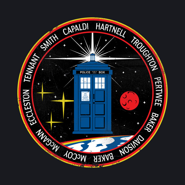 TRDS-12 Mission Patch