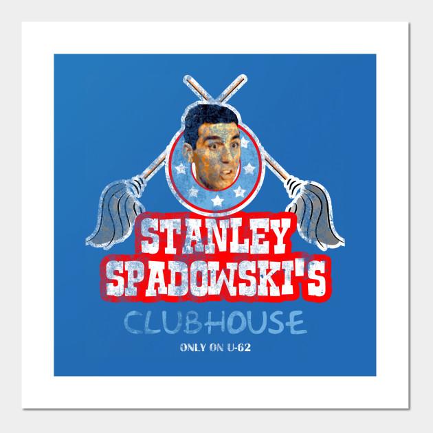 Men/'s Tee UHF Stanley Spadowski/'s Clubhouse