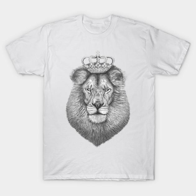 eb2a9cfd The King - Lion - T-Shirt | TeePublic