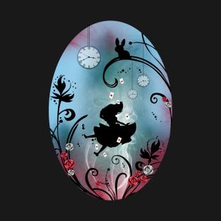 Alice in Wonderland - Rosebush t-shirts