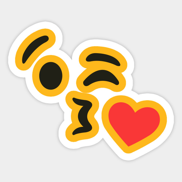 Emoji Kiss Wink Heart Blowing Kiss Emoji For Women