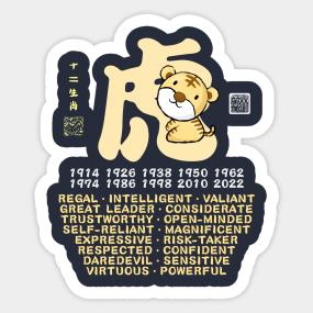 Personality Traits Stickers | TeePublic