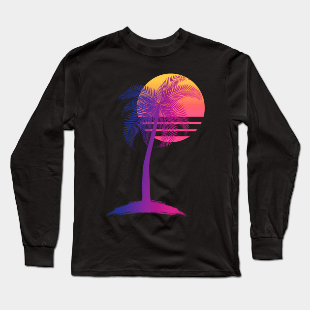 0bd417257 Sunset Dreams - 80s - Long Sleeve T-Shirt | TeePublic