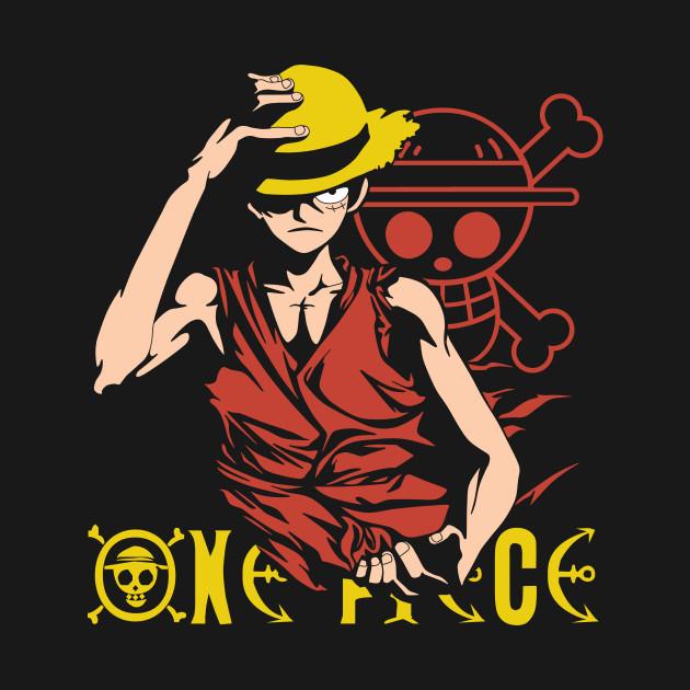 One Piece Monkey D. Luffy, Vector Anime