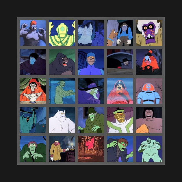 scooby doo where are you monsters