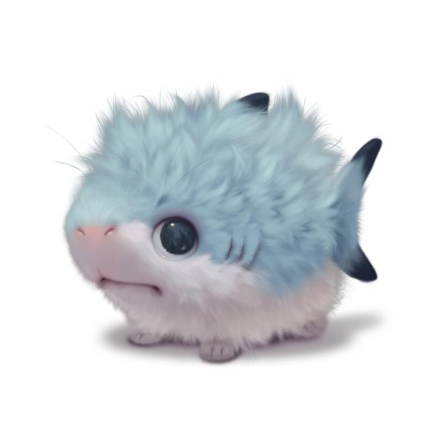 Fluffy shark