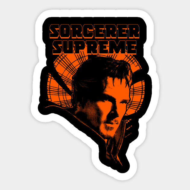 Sorcerer Supreme Sticker