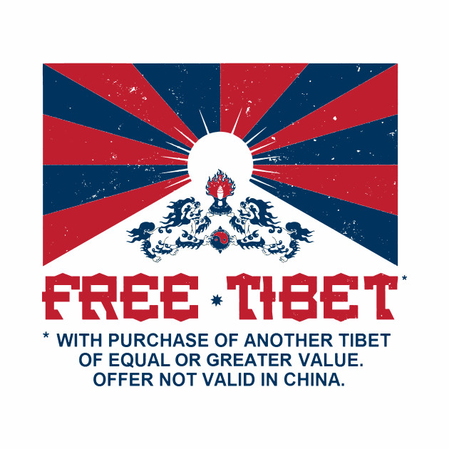 FREE TIBET * WITH PURCHASE OF ANOTHER TIBET
