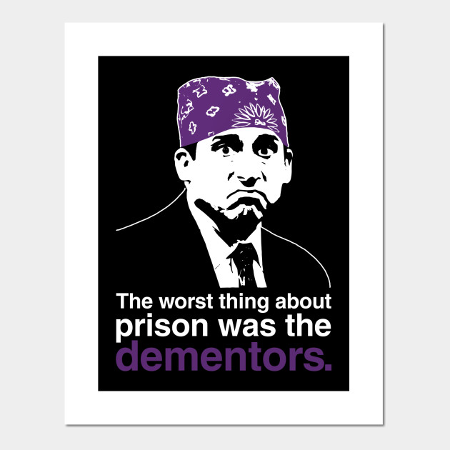85b7d75a5 Prison Mike - The Office - Posters and Art Prints   TeePublic
