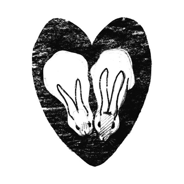 Huddling Rabbits