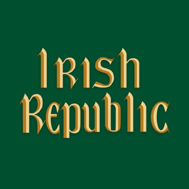 Irish Republic 1916 Rebel Flag