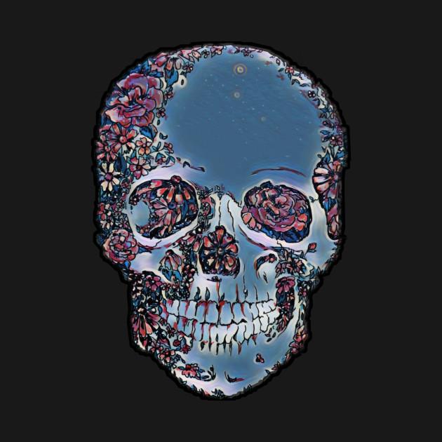 Skull Aesthetic Skulls T Shirt Teepublic De