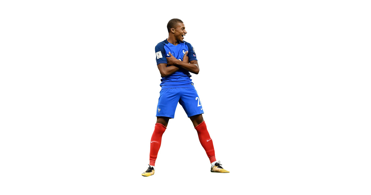 best loved 3d462 dc28b A Best Poster Kylian Young Football Player National Team France PSG Paris  Saint Mbappe Art Print by tiffanygreys