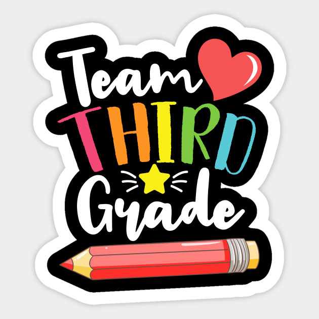 Team Third Grade Cute Back To School Gift For Teachers and ...