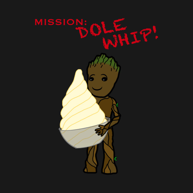 Baby Groot - Mission: Dole Whip