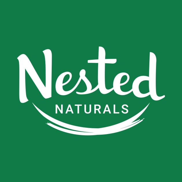 NestedNaturals White Logo