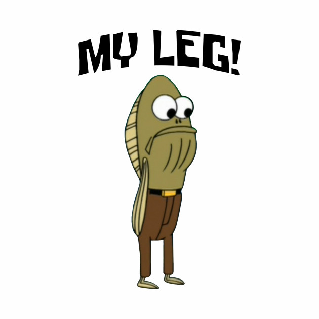 Fred The Fish: My Leg!
