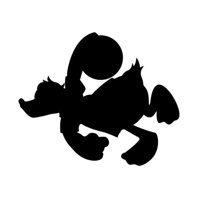 donald bowling silhouette donald bowling silhouette t shirt