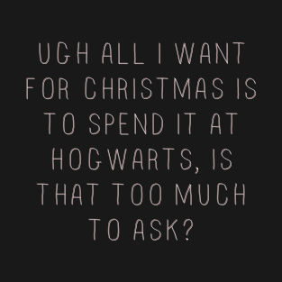 All I want for Christmas...