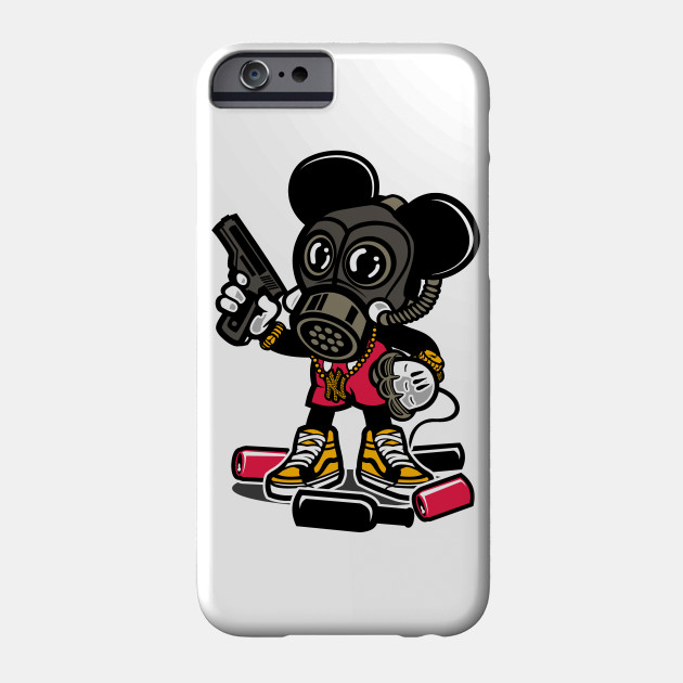 Gangsta Mouse - Mickey Mouse - Phone Case | TeePublic