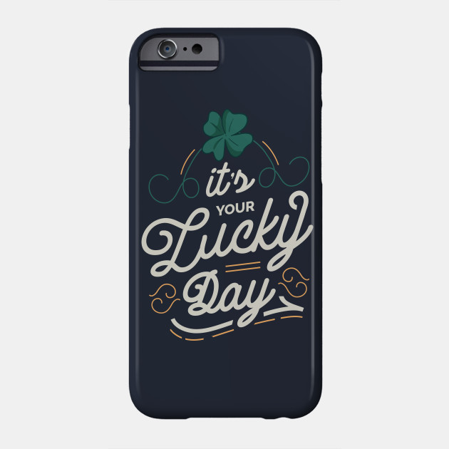 LUCKY DAY LETTERING Saint Patrick's Day