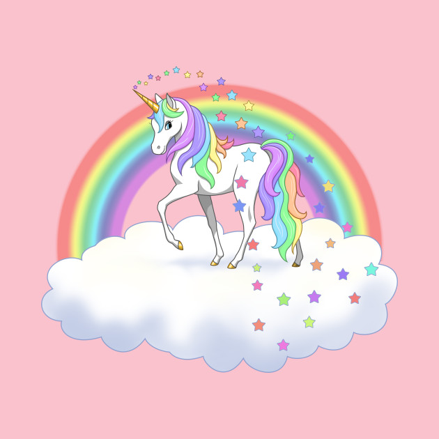 It's just a graphic of Unforgettable Colorful Unicorn Pictures