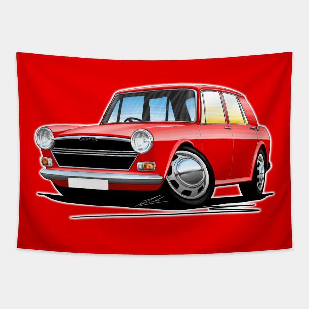 Austin 1300 Red