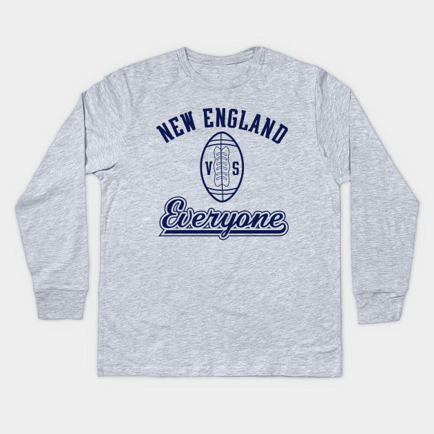803c5011 NEW ENGLAND VS EVERYONE! - New England Patriots - Kids Long Sleeve T ...