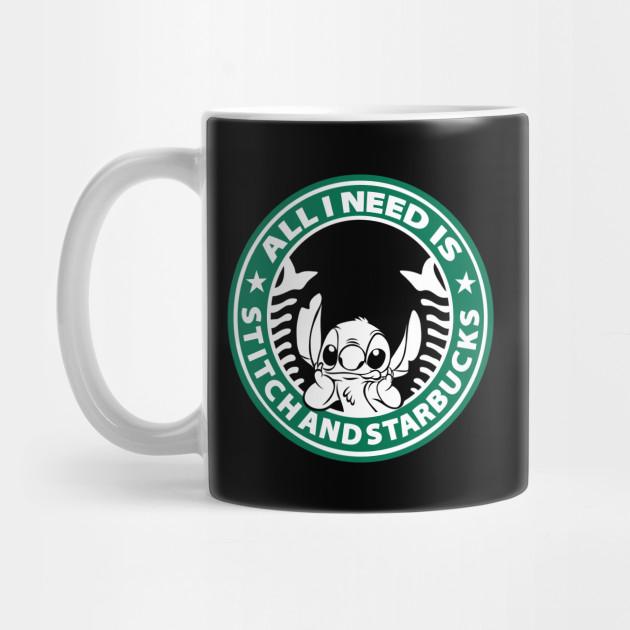 07d849720d6 All I need is Stitch and Starbucks by ryandraws_stuff