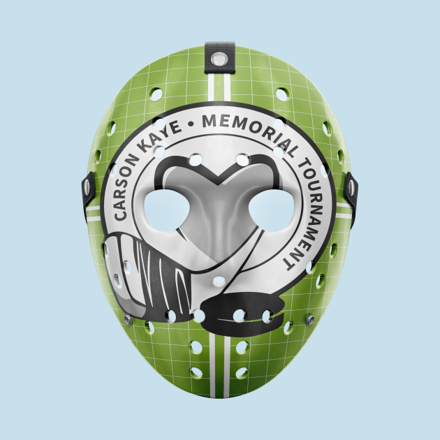 Carson Kaye Memorial Tournament Goalie Mask