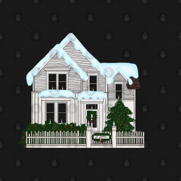 Murder House in Winter