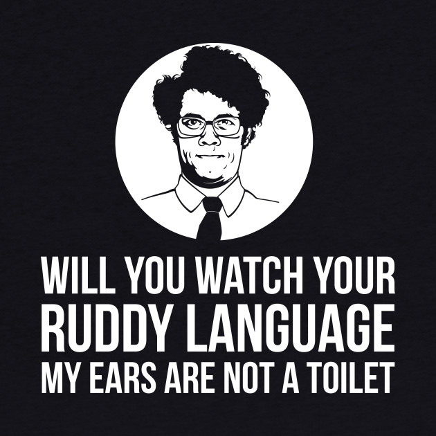 IT Crowd Maurice Moss Quote
