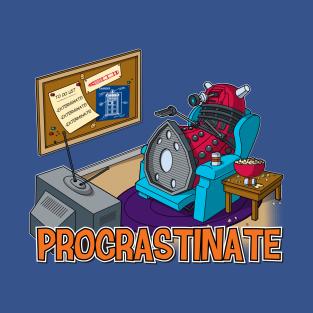 Procrastinate (Color Variant) t-shirts