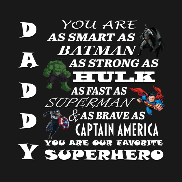 025b45282667 Daddy Superhero - Fathers Day - Hoodie