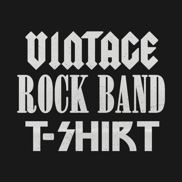 Vintage Rock Band T-shirt